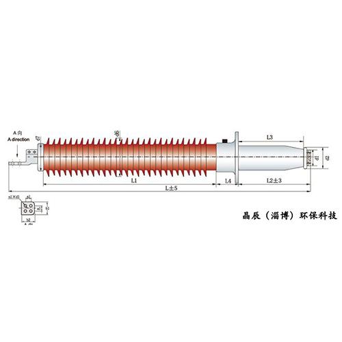 天津玻璃钢干式GIS出线套管
